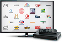 Digital Lite satellite TV package