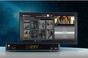 Shaw Direct Equipment and TV