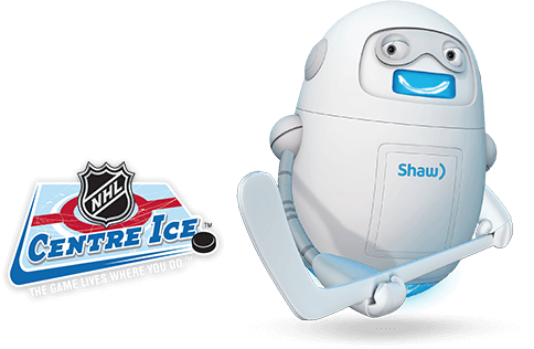 Shaw Direct NHL center ice