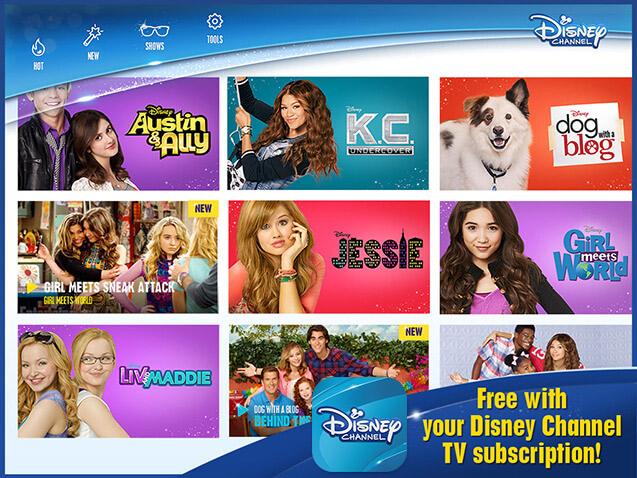 tv program disney channel
