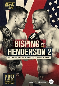UFC 204: Bisping vs. Henderson 2 (FRENCH)