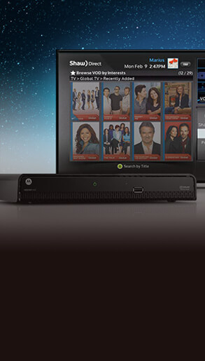 Shaw Direct - Direct Satellite TV in Canada, Satellite